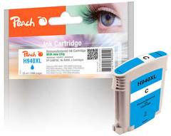 ČRNILO PEACH HP 940XL C4907AE 25ml, CYAN 316216
