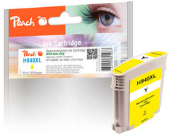 ČRNILO PEACH HP 940XL C4909AE 25ml, YELLOW 316218