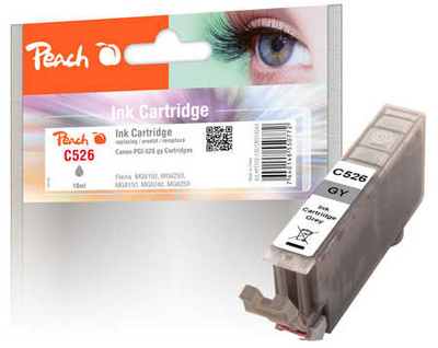 ČRNILO PEACH CANON CLI-526XL, GREY 10ml 314244