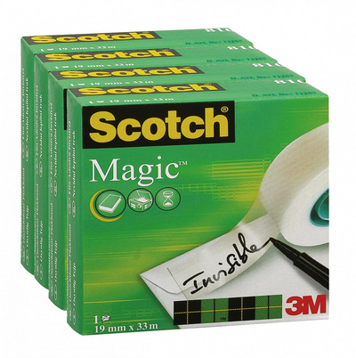 Lepilni trak nevidni 19 x 33 Scotch magic 810 3M