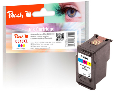 Črnilo Peach Canon CL-546XL color 17ml,  319025